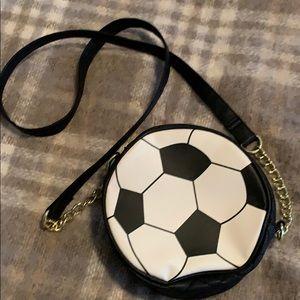 CLEARANCE Betsey Johnson Luv Soccer Mini Bag